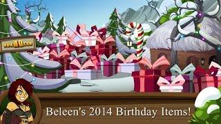 Beleen Unwraps her Birthday Items in the Online MMORPG Adventure Quest Worlds