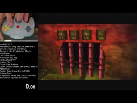 Angry Aztec 1 to Enter Factory - DK64 No Levels Early In-Depth Speedrun Tutorial (Part 3 of 12)