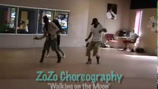 The Dream (Walking on the Moon): Alonzo Chester Choreography