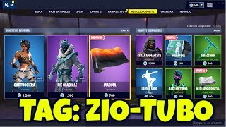FORTNITE SHOP today April 15th skin CARTUCCIERA music MARATONA music and TONI COVERAGE OF DIGITAL GRAY