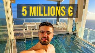 MON APPARTEMENT À 5 MILLIONS D'EUROS (VISITE GUIDÉE)