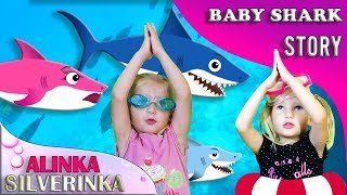Baby Shark Sing and Dance! | Pretend Play | Songs for Children with Kid Shark and Sharks Family!