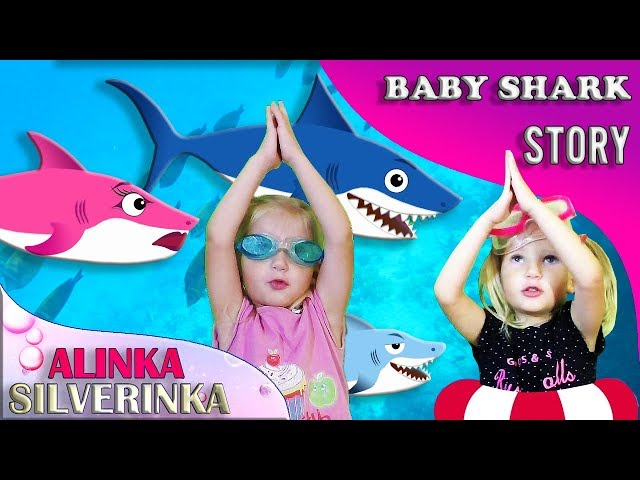 Little Shark   Kids Songs and Nursery Rhymes   Animal Songs from Alinka Silverinka and Kid Shark