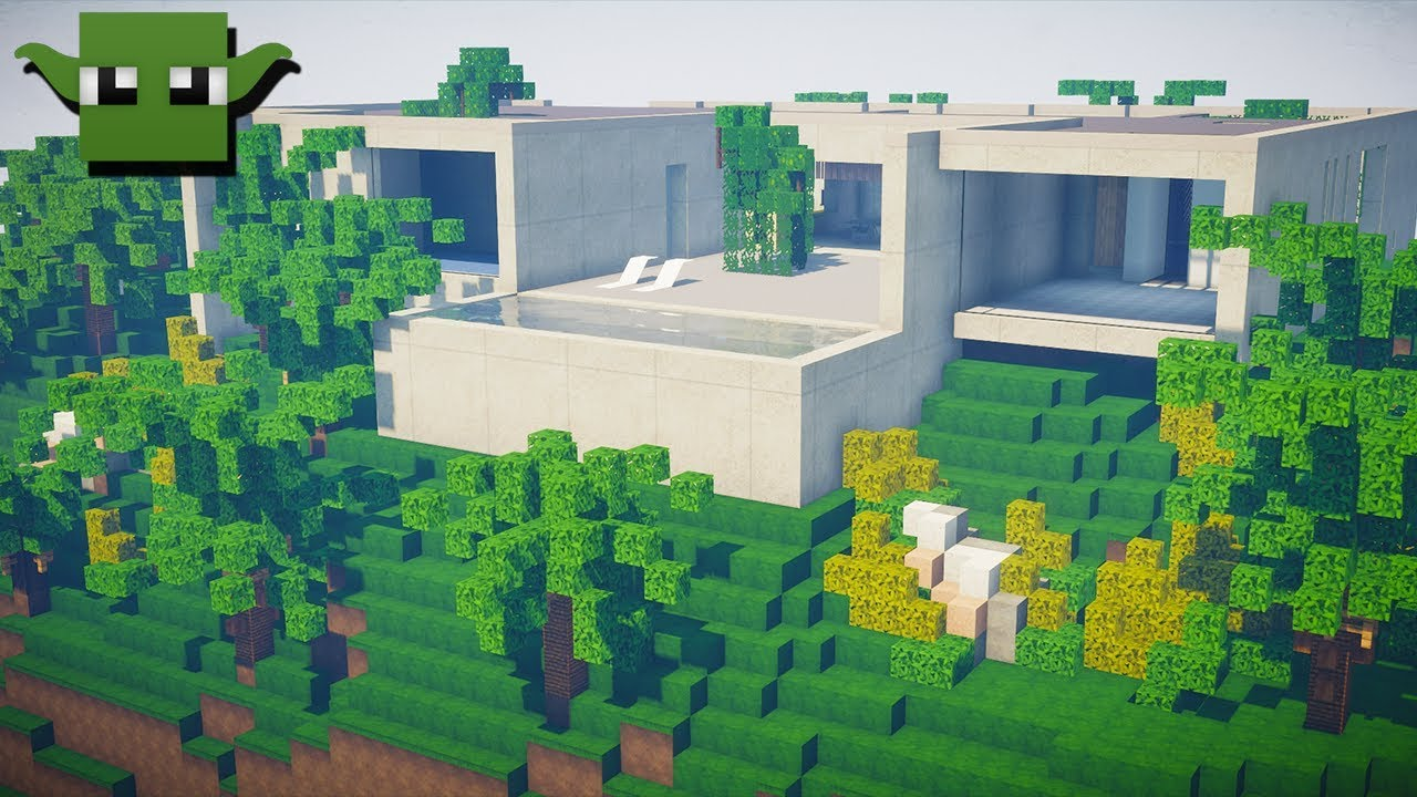 Minecraft Modern House from India Lets Build