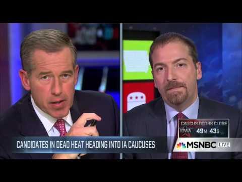 Iowa Caucus Night 2016 - MSNBC [Hour 1]