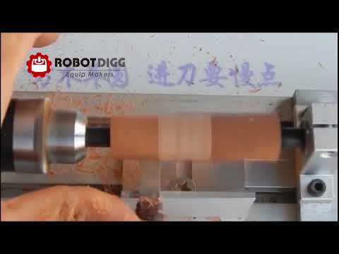 Mini Lathe CNC Machining Beads Polisher Machine