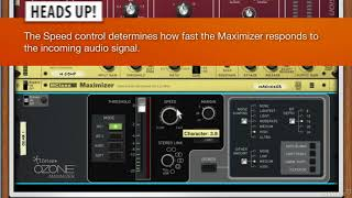 Reason Rack Extensions 103: Mixing and Mastering Rig V3 - Explored - 36. The Ozone Maximizer