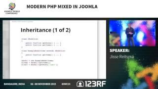 JWC15 - Modern PHP mixed in Joomla