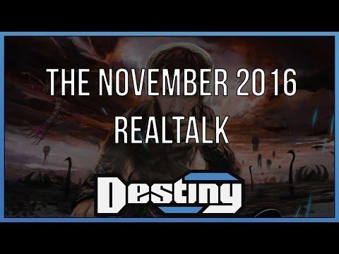 The Realtalk of November 2016