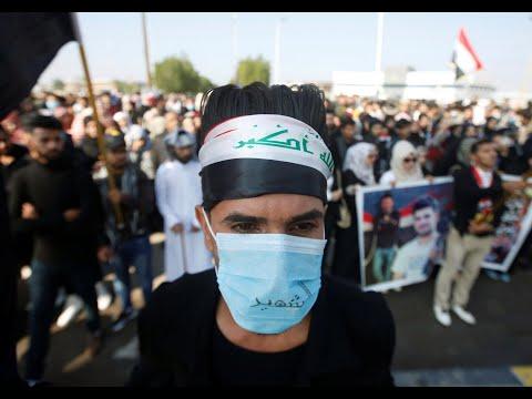 النقابات العراقية تطالب الجيش بتأمين ساحات التظاهر  - 22:00-2019 / 12 / 8