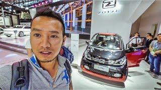 Chi tiết ô tô điện Zotye E200 phong cách Smart |XEHAY.VN|