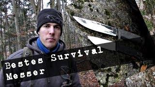Survival Training für Anfänger, dein erstes Survival Messer ? Tipps und Empfehlung (4K)