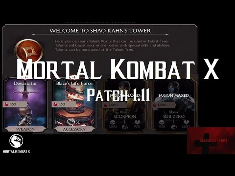 Mortal Kombat X iOS - Patch 1.11