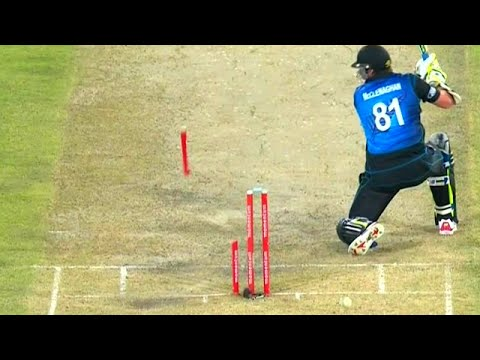Best Destructive Pace Bowling in Cricket ● Stumps Broken ● Stumps Flying in Air ●