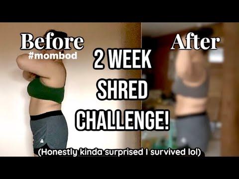 I TRIED TO GET ABS IN 2 WEEKS (Chloe Ting 2 Week Shred ...