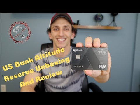 US Bank Altitude Reserve Unboxing & Review| Waller's Wallet