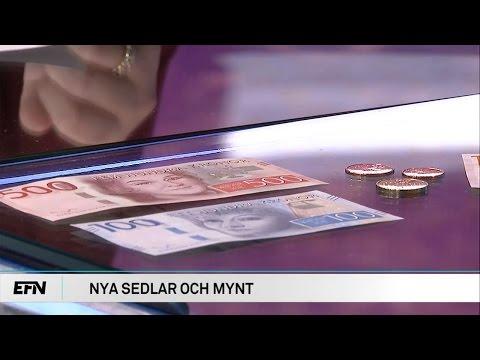Dags för ännu mer nya sedlar och mynt