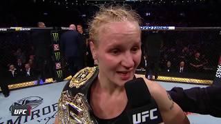 UFC 231: Valentina Shevchenko Octagon Interview