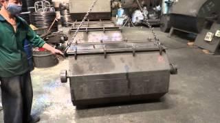 臺灣譽成洋釘,鐵釘生產流程