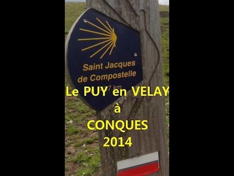 Compostelle du Puy-en-Velay à Conques
