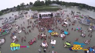 2015 Crooked Lake Sandbar Music Festival