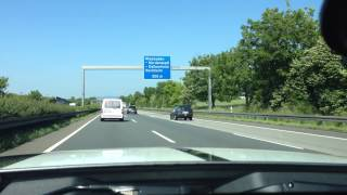2014 Shelby GT500 on the Autobahn