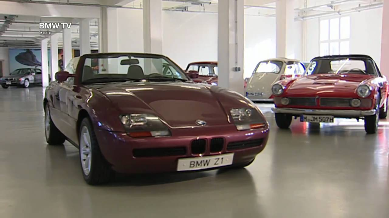 bmw legenden der bmw z1 roadster youtube. Black Bedroom Furniture Sets. Home Design Ideas