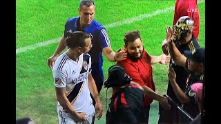Zlatan with a gesture he may come to regret after El Trafico LAFC 5 LA Galaxy 3 - 10242019