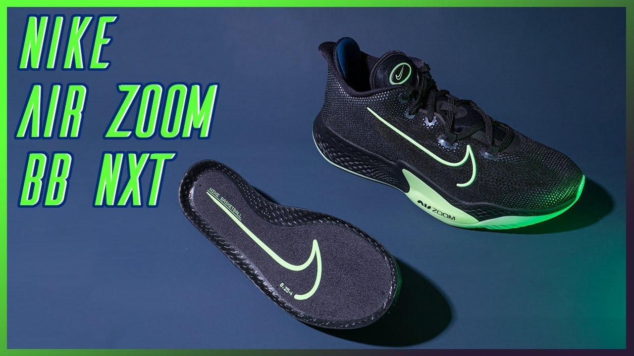Nike Air Zoom BB NXT 實鞋介紹 / 結合 Zoom Air 與 React 的豪華組合套餐