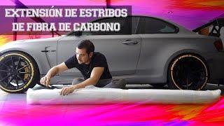 MÁS FIBRA DE CARBONO AL BMW!! | JUCA