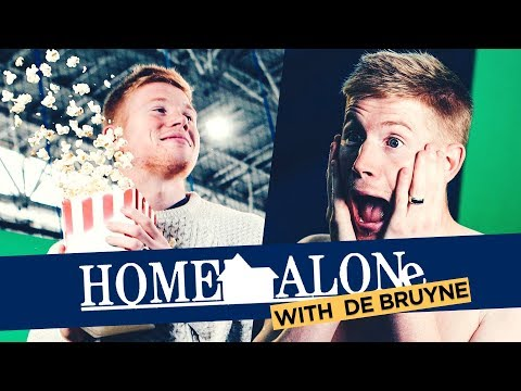 HOME ALONE GIFS | Kevin De Bruyne | Behind The Scenes