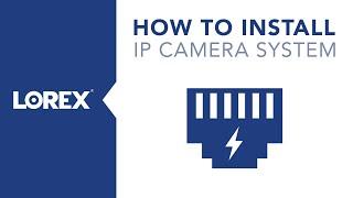 IP Security Camera System Installation Video