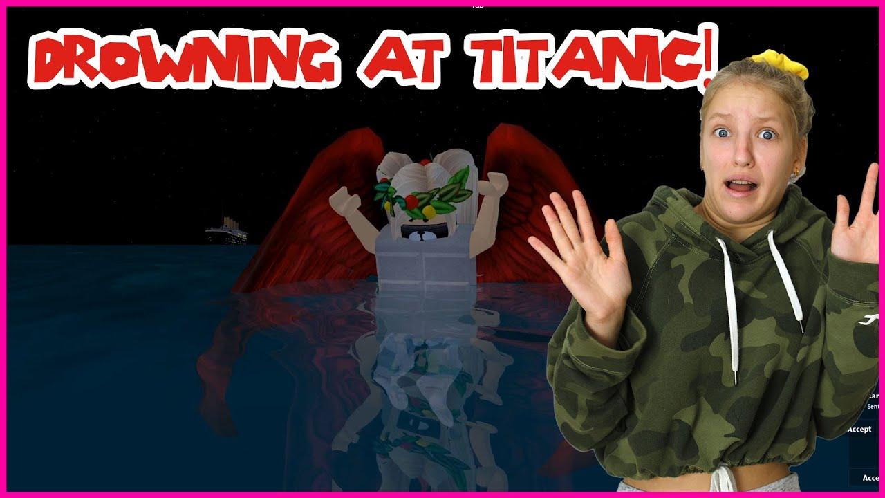 Drowning At The Titanic Youtube