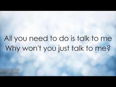 (Lyrics) Talk To Me - Lauren Aquilina