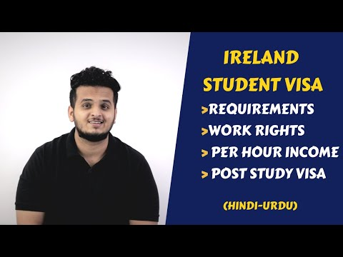 Ireland Student Visa : Requirements, Work Rights & Post Study Visa