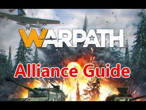 How alliances work in Warpath game / app