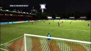 FIFA 12 PC Gameplay Challenge LOSC Lille Vs Olympique Lyon