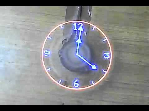 Clock projects at Cool Electronic projects [Microcontroller].flv ...