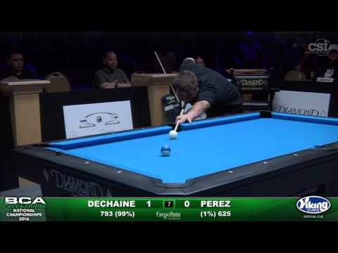 10Ball Challenge  Dechaine vs Perez