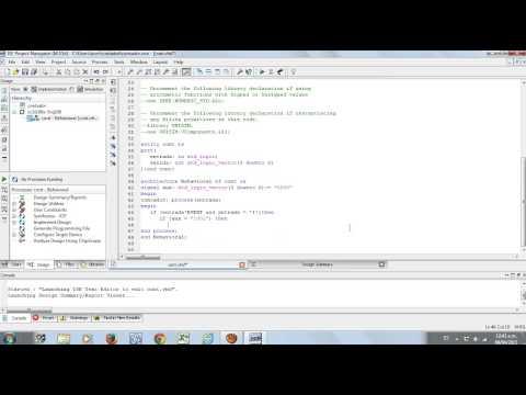tutorial contador en VHDL