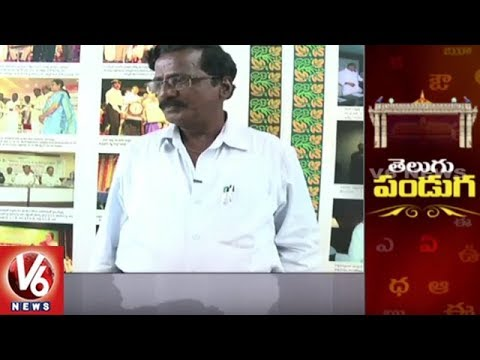 Face To Face Interview With Poet Sunkireddy Narayana Reddy Over World Telugu Conference | V6 News