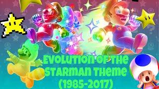 Evolution of the Starman Theme In Mario Games (1985-2017)
