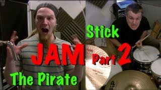 Rhythm Section Jam Part 2 - More Dave Hollingworth & Stick