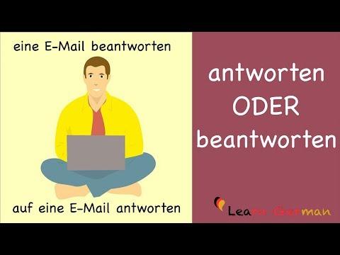 Learn German | German Grammar | antworten oder beantworten? | A2 | B1