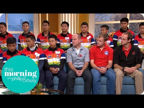 Thai Cave Survivors Reunited With British Rescue Divers | This Morning