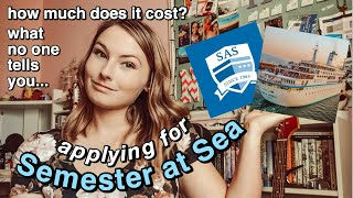 APPLYING FOR SEMESTER AT SEA, HOW MUCH IT COSTS & MORE