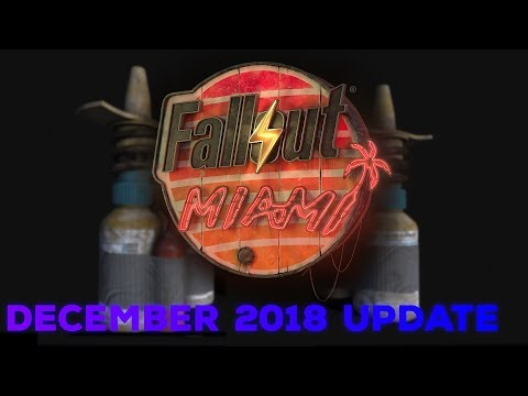 Fallout: Miami - December 2018 Progress Update