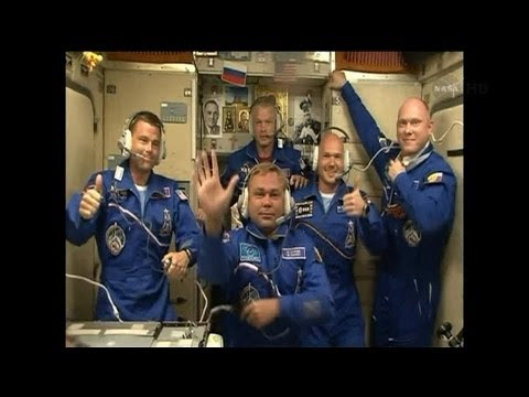 New Astronauts Arrive On Board International Space Station