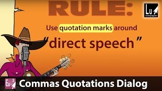 Commas Quotations Dialog Song – Learn Grammar – Learning Upgrade App