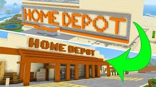"I Rebuilt My First ""Big"" Minecraft Building!"